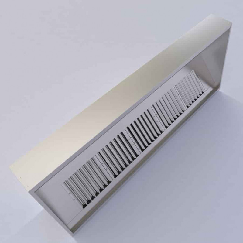 3500mm Commercial Extractor Hood Kit