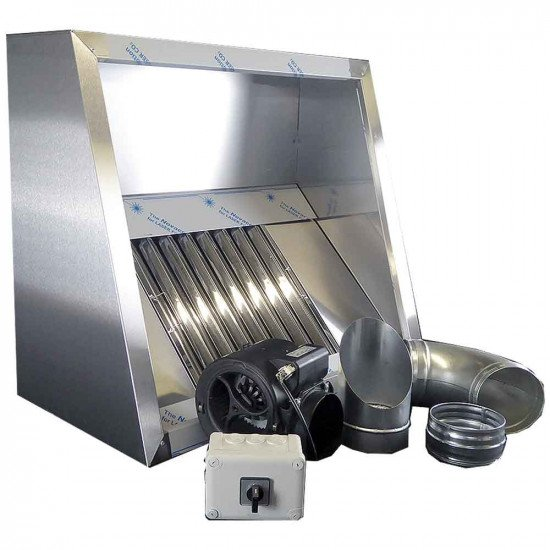 Commercial Kitchen Extractor Kit 950mm With Motor
