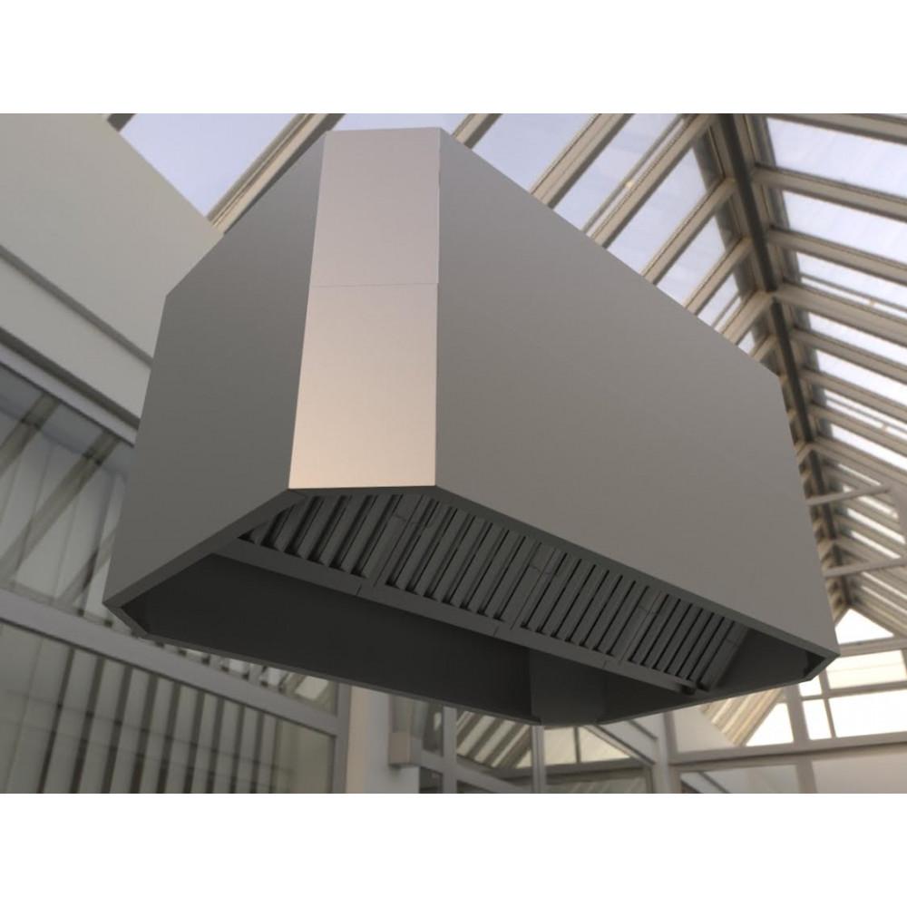Commercial Kitchen Canopy Hood 1200mm Kew Roastery