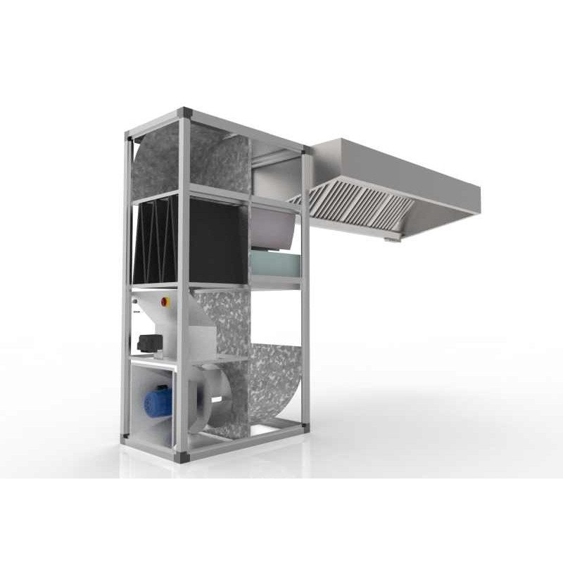 Ductless Extraction Canopy Extractor Hood