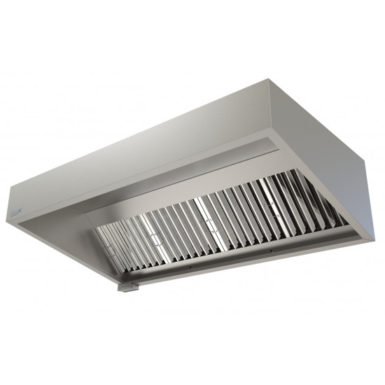 Commercial Kitchen Extraction Canopy Kit 2000 mm