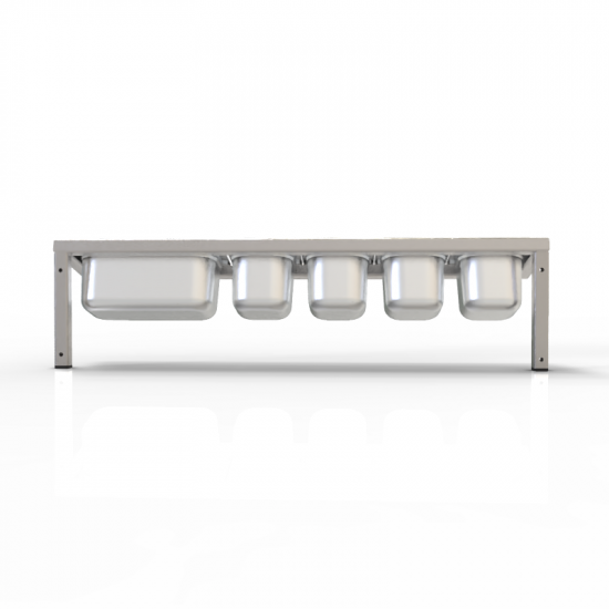 Spice Rack for Gastronorm Pots