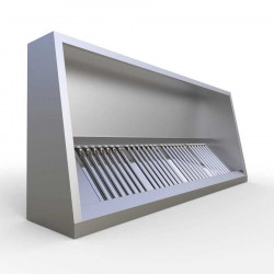 Commercial Kitchen Extraction Canopy Kit 2000 mm 7 Ft