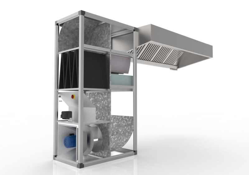 Commercial Kitchen Canopy Hood Manufacturer